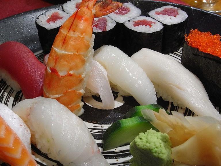 Sushi [ © Javier Lastras|Flickr ]