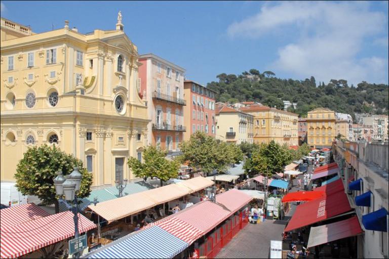 Cours Saleya| ©Jean-Pierre Dalbéra