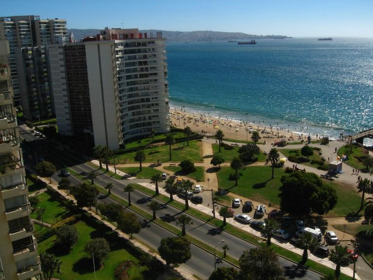 Viña del Mar is often referred to as 'La Ciudad Jardin' © Hector Garcia / Flickr