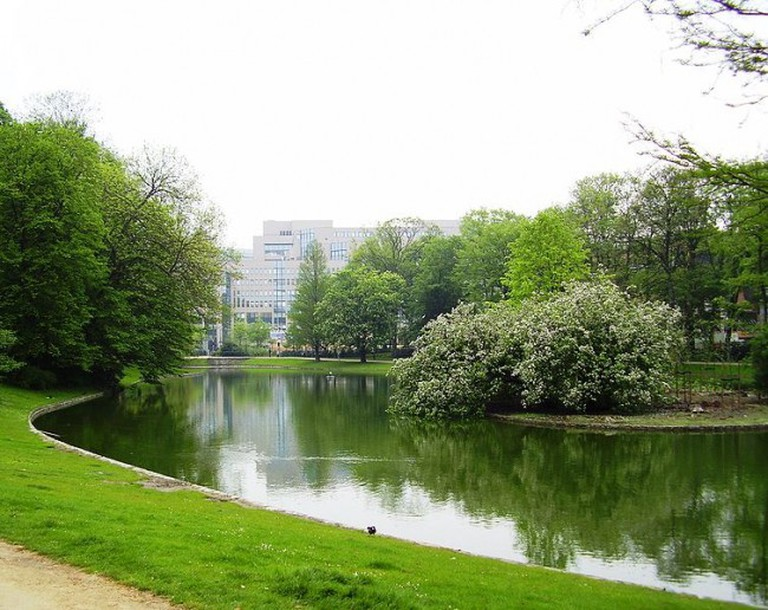 The lake of Parc Leopold   © Ben2/WikiCommons