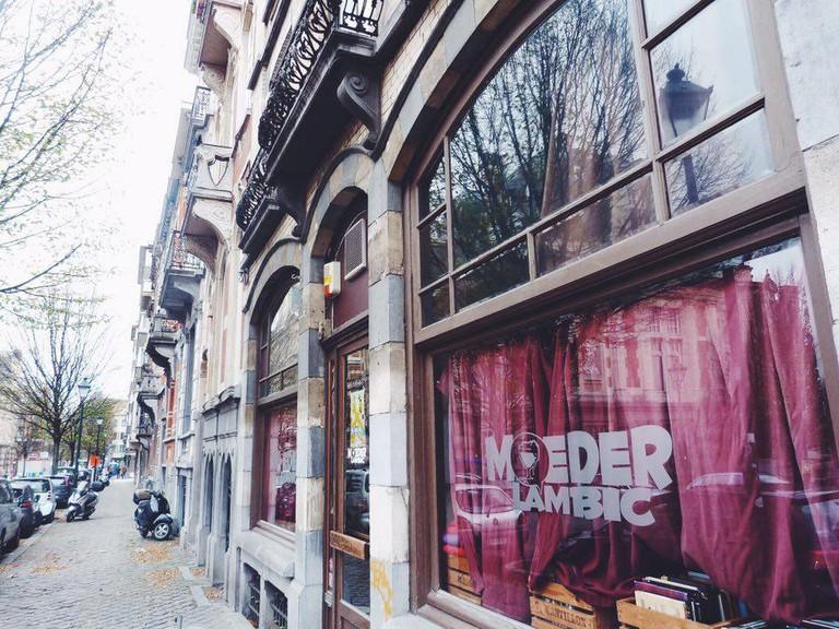 Chez Moeder Lambic | Courtesy of Camilla Colavolpe