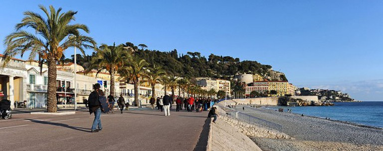 Promenade des Anglais| ©Cayambe/ Wikicommons