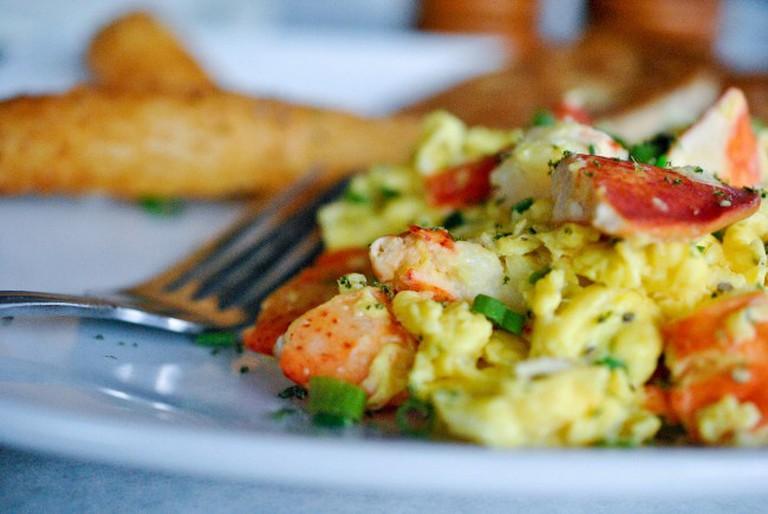 Scrambled Eggs © Larry Hoffman/Flickr