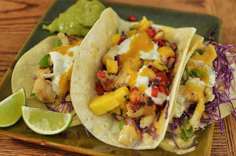 Mmm... fish tacos   © jeffreyw/Flickr