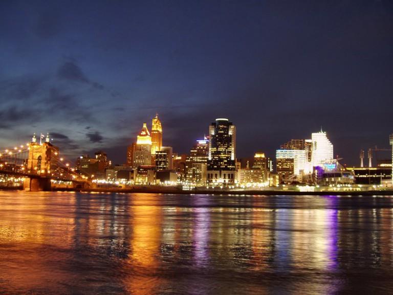 Cincinnati skyline | © Derek Jensen/WiKiCommons