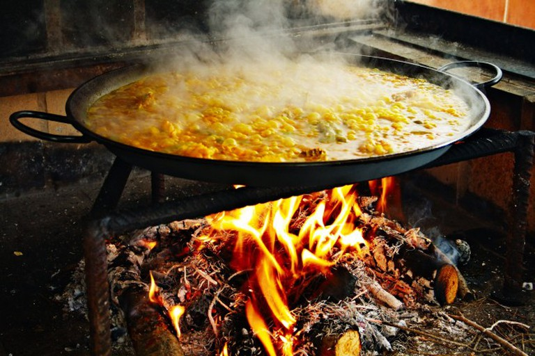 Paella_hirviendo | © Jan Harenburg/WikiCommons