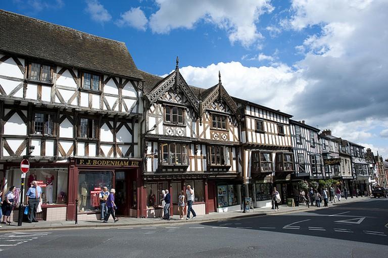Broad Street Ludlow | © Shropshire & Telford TSB / Flickr