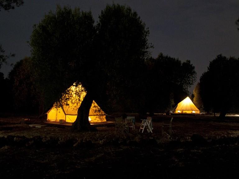 Campsite, Alliste   Courtesy of Macaria Accampamento Rurale