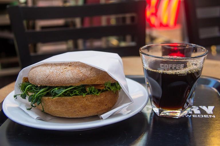 Coffee and Sandwich   ©Susanne Nilsson/Flickr