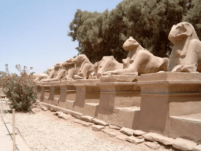 Luxor antiquities│© Gerdie / Pixabay