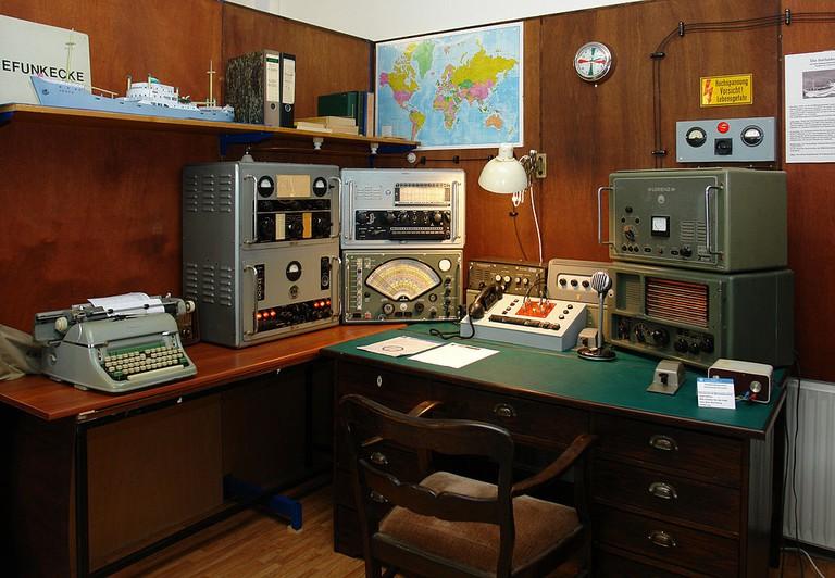 Bremer Rundfunkmuseum: Seefunkstation mit Originalgeräten vom Küstenmotorschiff   ©Jürgen Howaldt