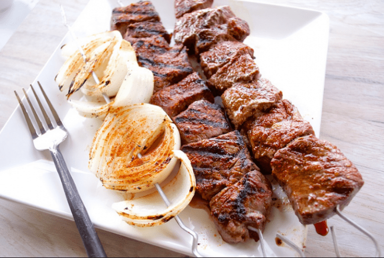 Beef Shish Kabob Recipe ©Caboose Spice & Company