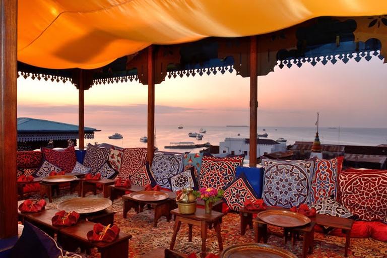 Emerson on Hurumzi and the Tea House Restaurant, Zanzibar