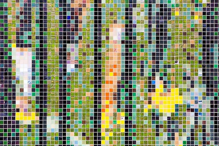 Mosaic at The Cisneros Fontanals Art Foundation | ©gpparker/Flickr