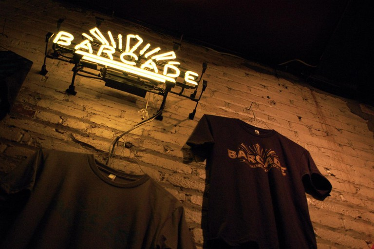 Barcade bar Philadelphia