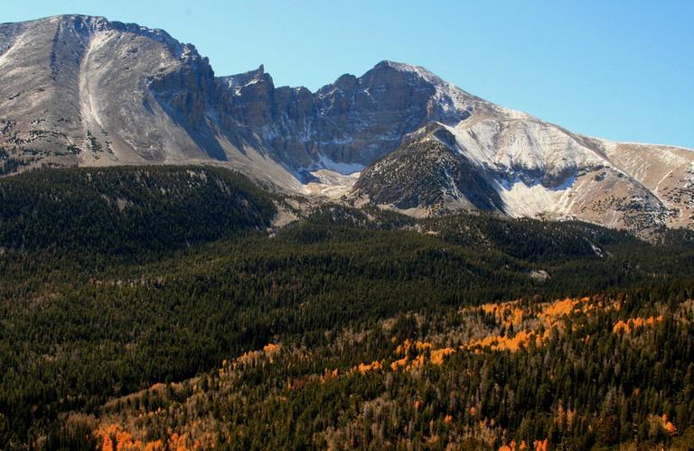 Mountains in Great Basin National Park | © Frank Kovalchek/Flickr