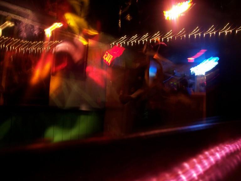 Lights on the dancefloor
