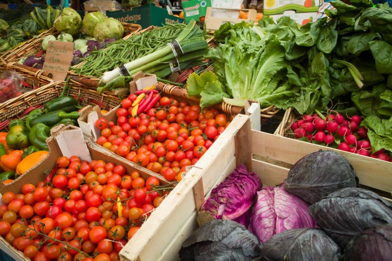 Farmers Market Produce | © William Murphy/Flickr