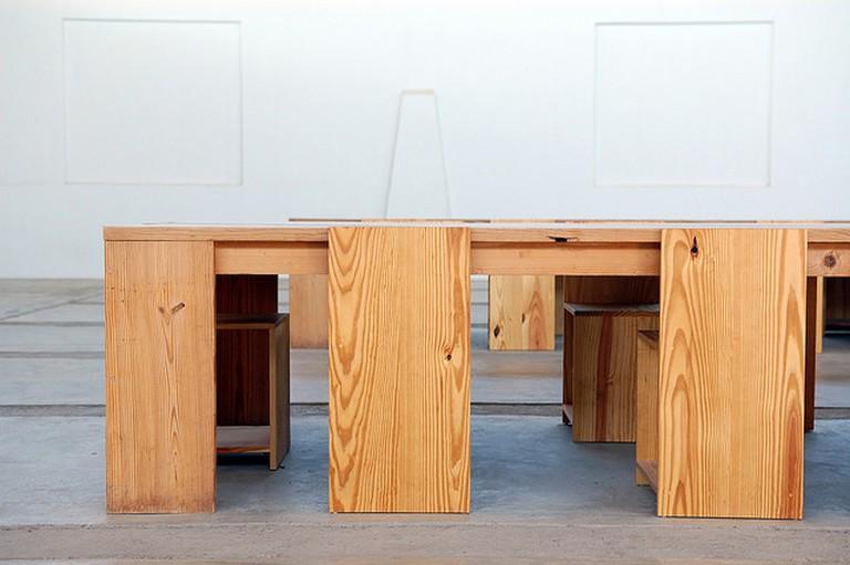 Donald Judd, Arena Furniture   © Daniel/Flickr