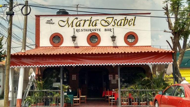 Restaurante María Isabel   courtesy of Restaurante María Isabel