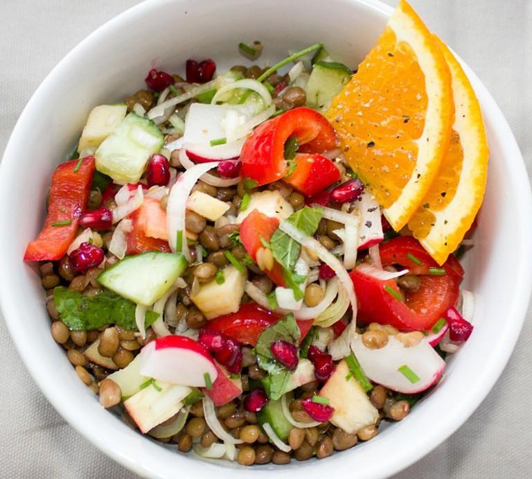 Organic vegan salad/ ©Pixabay