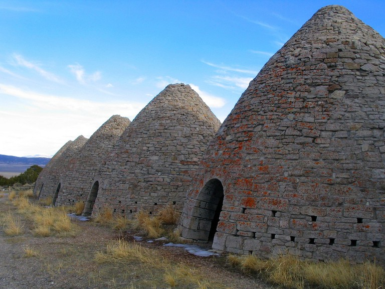 Ward Charcoal Ovens, Near Ely, Nevada | © Ken Lund/Flickr