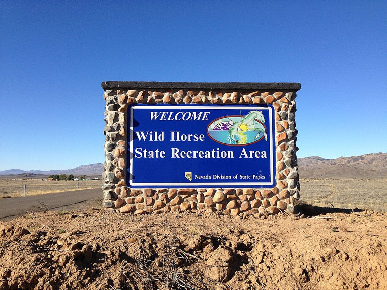 Wild Horse State Recreation Area welcome sign   © Famartin/WikiCommons