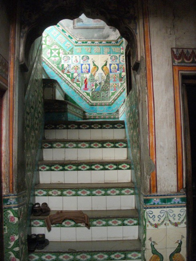 Staircase in an old haveli in the Old City © Rick Bradley/Flickr