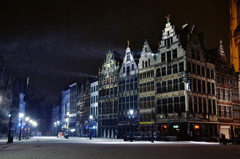 Snow in Antwerp | © Russ Bowling/Flickr