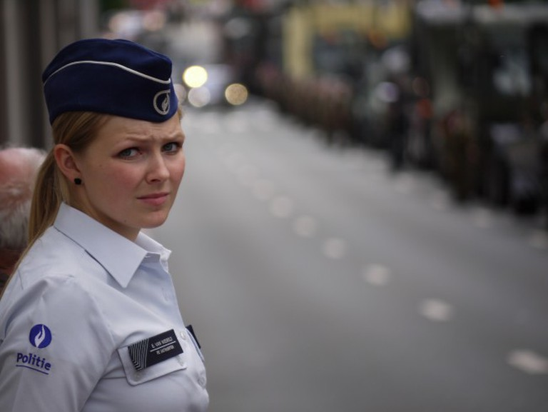 Learn more about the Belgian police | © Eoghan O'Lionnain/Flickr