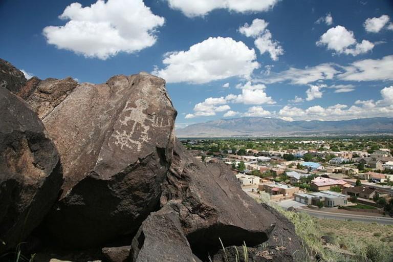 Petroglyph is Albuquerque, NM | © Daniel Schwen/Flickr