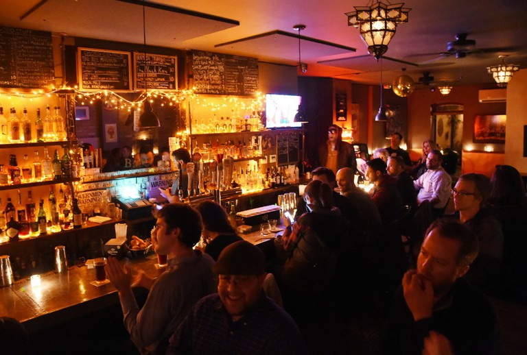 A Packed Bar