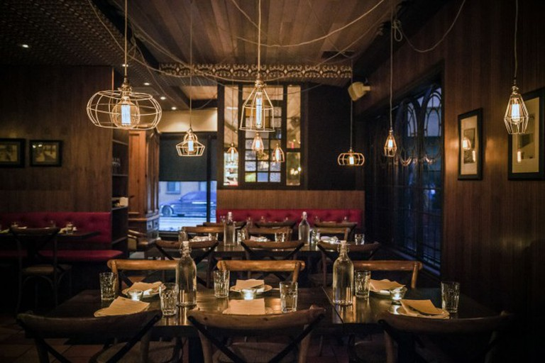 Dining Area   Courtesy of Enoteca Sociale