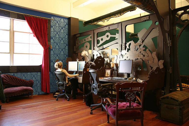 Three Rings Design Custom Desks |© Courtesy of Because We Can, Inc.