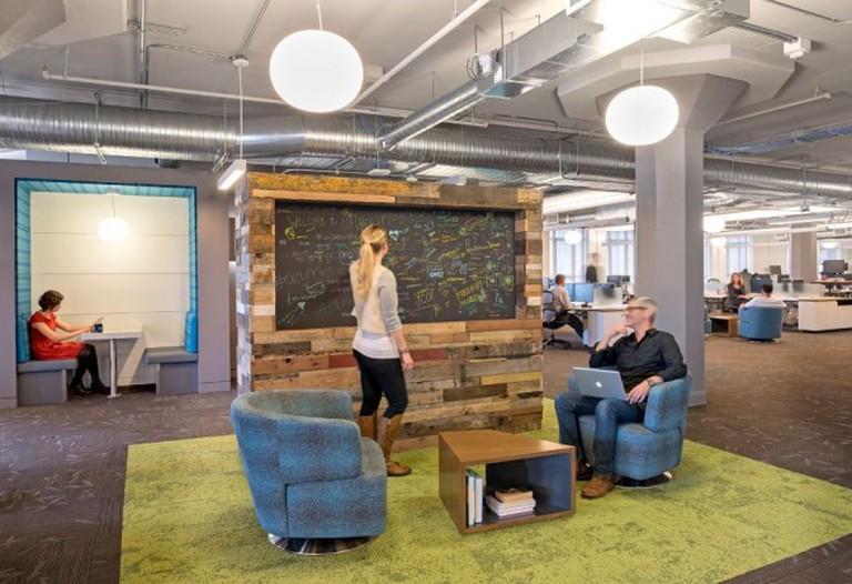 Twitter Office Space |© Courtesy of Glassdoor