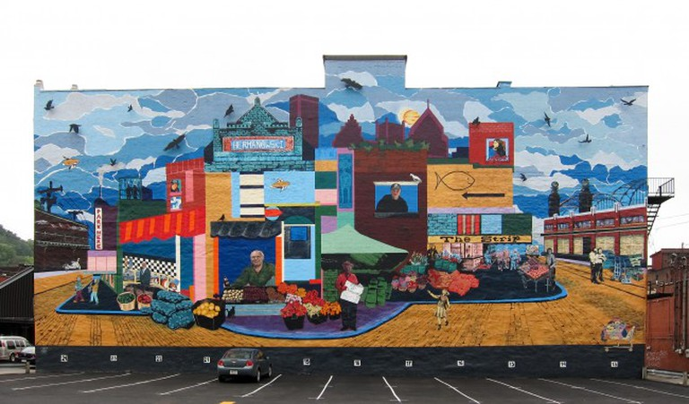Strip District Mural © Perry Quan/ WikiCommons
