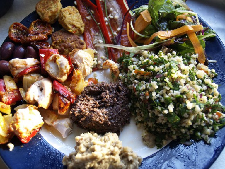 Ethiopian Food | © cyclonebill/WikiCommons