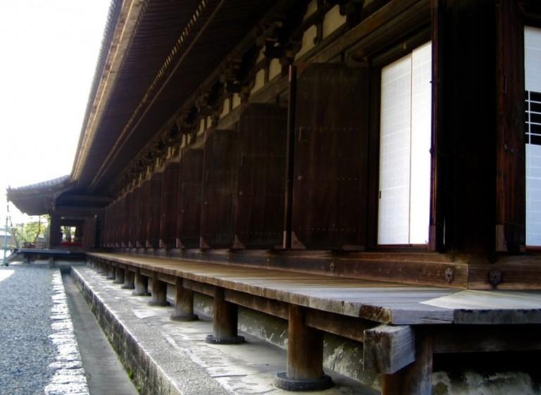 Exterior Of Sanjusangendo