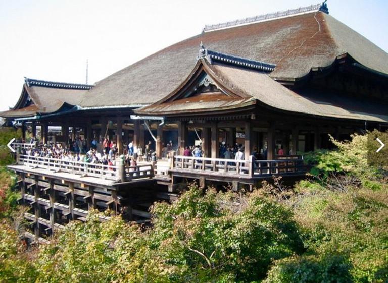 Wooden Platform at Kiyomizudera
