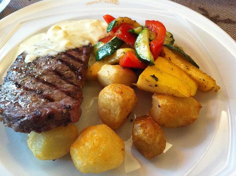 Steak at Uzupio Klasika