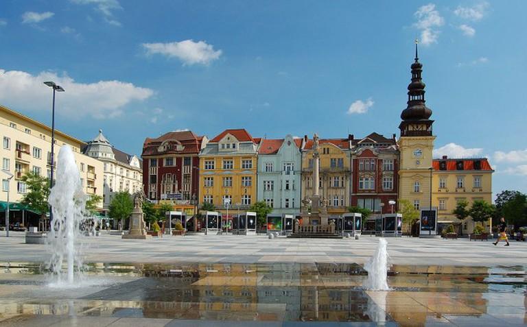 Ostrava's Masaryk Square   © Petr Smerkl/WikimediaCommons