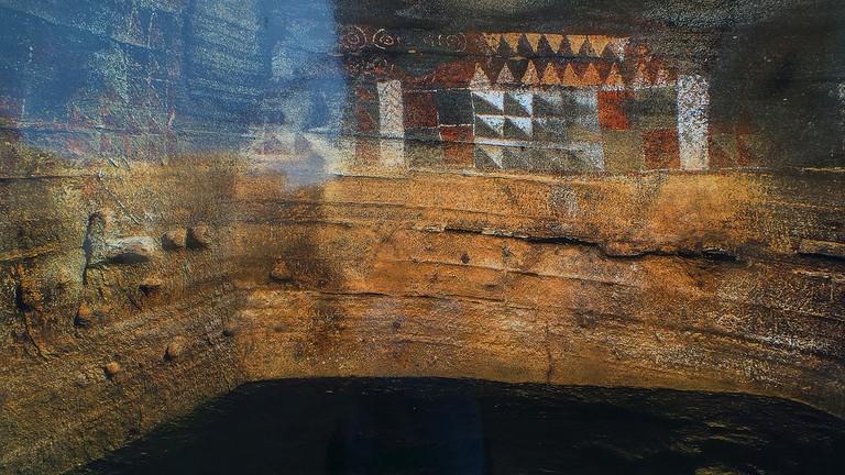 Cueva Pintada de Gáldar - Exposición al aire libre Escrito en piedra Las Palmas de Gran Canaria.   © El Coleccionista de Instantes / Flickr