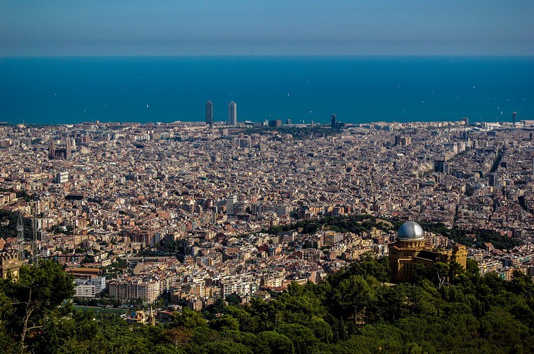 A view of Barcelona from above | ©Rodrigo Paredes/Flickr