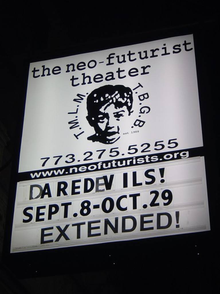 The Neo-Futurists in Chicago   © Chris Metcalf/Flickr
