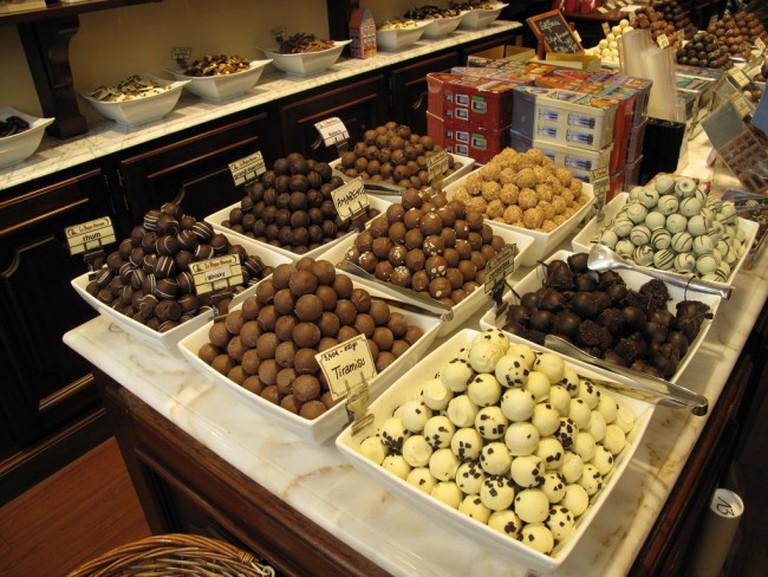 n assortment of Belgian chocolates|© Jerick Parrone/Flickr