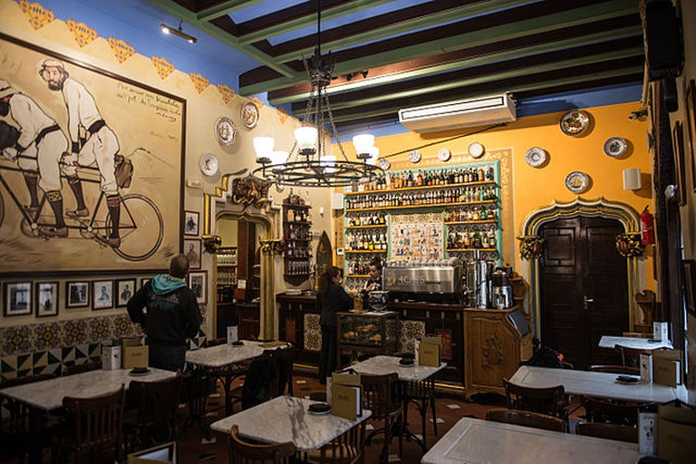Els Quatre Gats cafe Barcelona | © Ralf Roletschek/Wikimedia Commons
