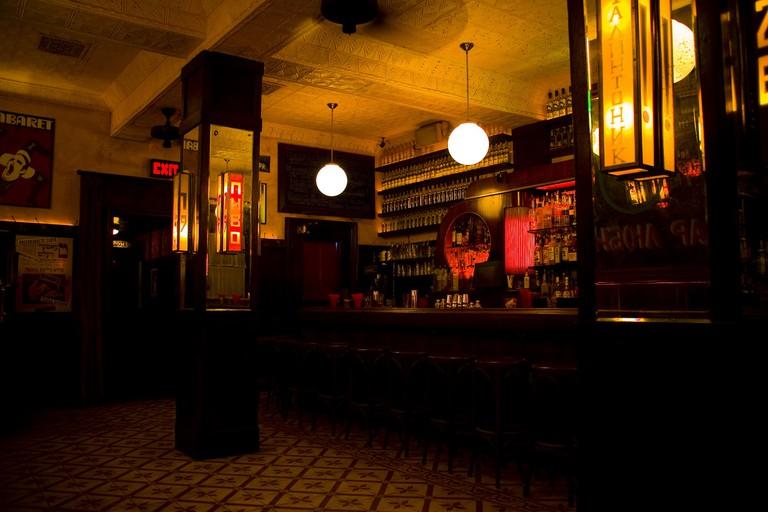 Bar Lubitsch, a Soviet-themed vodka bar.