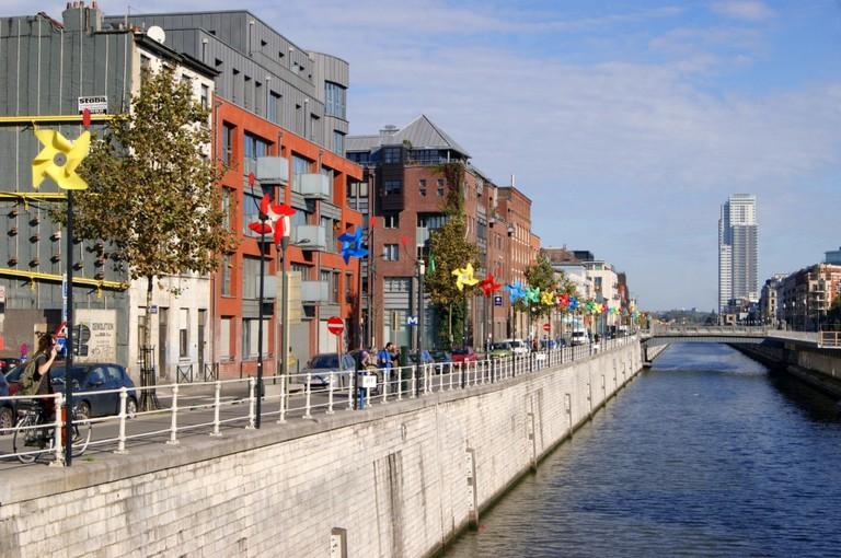 Brussels canal district (C) La Kusman