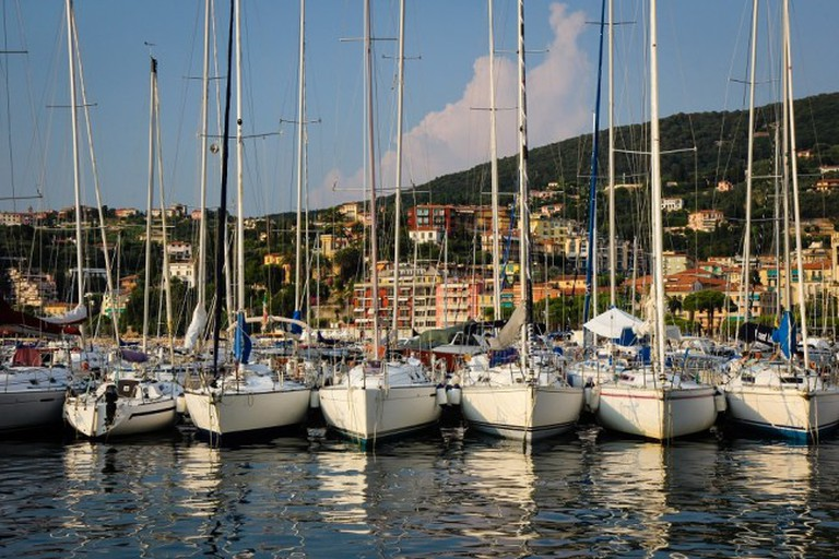 Sailboats in the harbour of Lerici, Italy   © Pank Seelen/Flickr