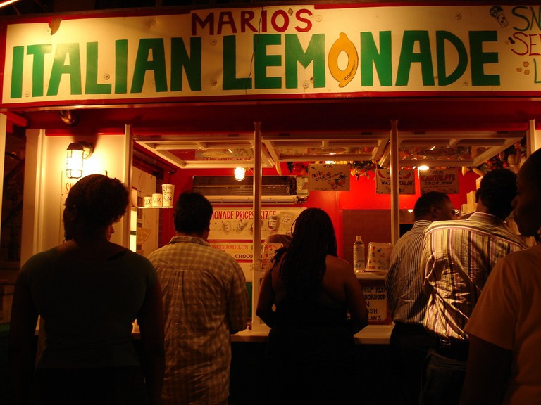Mario's Italian Lemonade Stand | © Pkam/Flickr